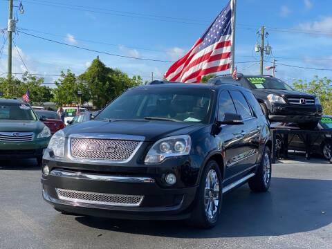 2011 GMC Acadia for sale at KD's Auto Sales in Pompano Beach FL