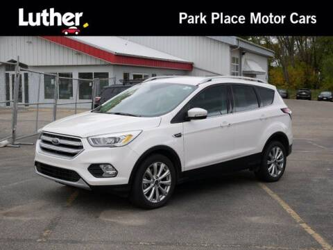2017 Ford Escape for sale at Park Place Motor Cars in Rochester MN