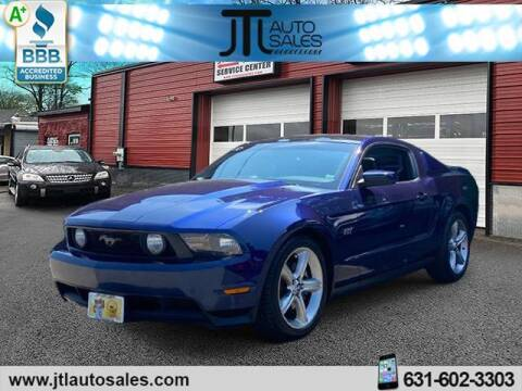 2010 Ford Mustang for sale at JTL Auto Inc in Selden NY
