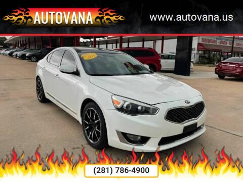 2015 Kia Cadenza for sale at AutoVana in Humble TX