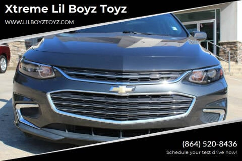 2018 Chevrolet Malibu for sale at Xtreme Lil Boyz Toyz in Greenville SC