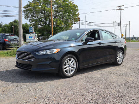 2014 Ford Fusion for sale at Terrys Auto Sales in Somerset PA