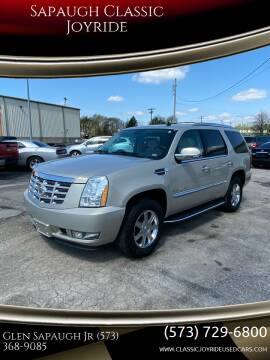 2008 Cadillac Escalade for sale at Sapaugh Classic Joyride in Salem MO