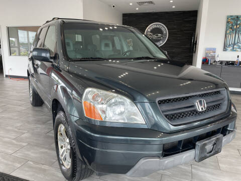 2005 Honda Pilot for sale at Evolution Autos in Whiteland IN