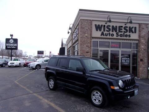 2011 Jeep Patriot for sale at Wisneski Auto Sales, Inc. in Green Bay WI