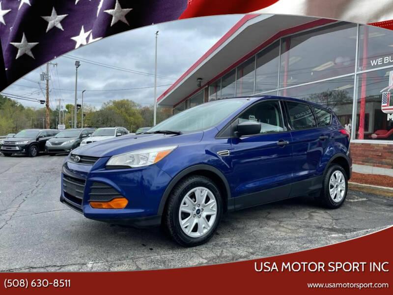 2016 Ford Escape for sale at USA Motor Sport inc in Marlborough MA