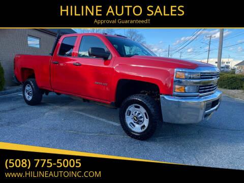 2016 Chevrolet Silverado 2500HD for sale at HILINE AUTO SALES in Hyannis MA