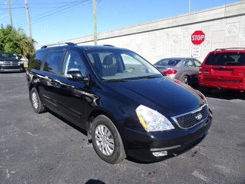 2014 Kia Sedona for sale at DONNY MILLS AUTO SALES in Largo FL