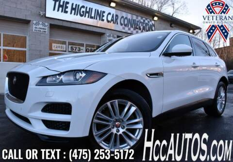 2020 Jaguar F-PACE for sale at The Highline Car Connection in Waterbury CT