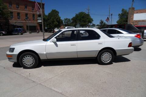 1992 Lexus LS 400 for sale at Paris Fisher Auto Sales Inc. in Chadron NE