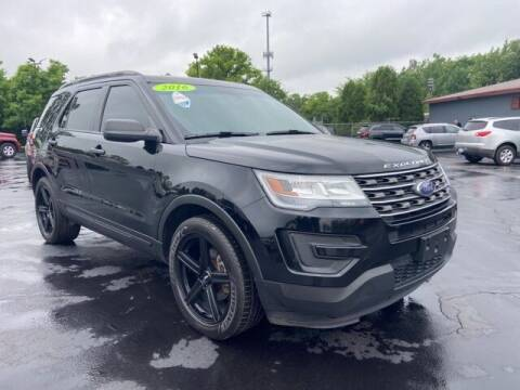 2016 Ford Explorer for sale at Newcombs Auto Sales in Auburn Hills MI