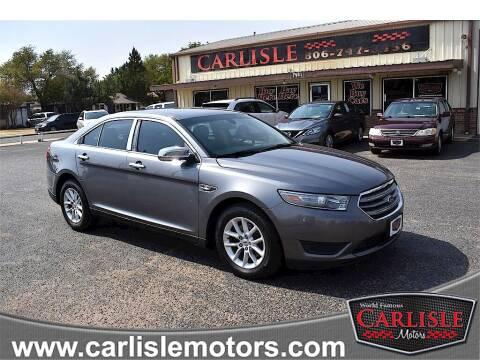 2014 Ford Taurus for sale at Carlisle Motors in Lubbock TX
