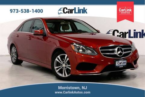 2014 Mercedes-Benz E-Class for sale at CarLink in Morristown NJ
