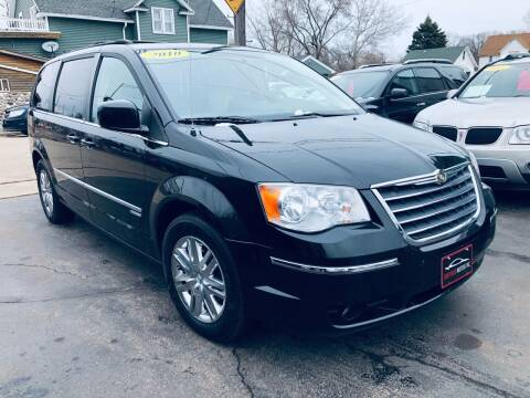 2010 Chrysler Town and Country for sale at SHEFFIELD MOTORS INC in Kenosha WI
