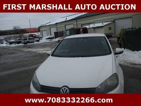 2012 Volkswagen Golf for sale at First Marshall Auto Auction in Harvey IL