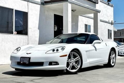 2008 Chevrolet Corvette for sale at Fastrack Auto Inc in Rosemead CA