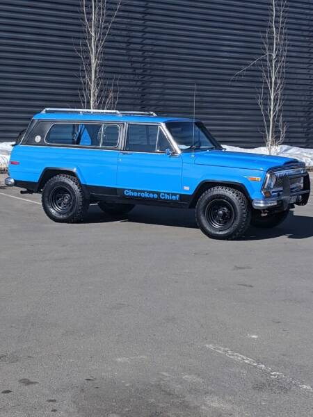 1978 Jeep Cherokee for sale at Sun Valley Auto Sales in Hailey ID