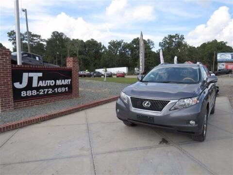 2012 Lexus RX 350 for sale at J T Auto Group in Sanford NC