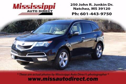 2013 Acura MDX for sale at Auto Group South - Mississippi Auto Direct in Natchez MS