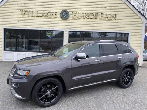 2014 Jeep Grand Cherokee for sale at Village European in Concord MA