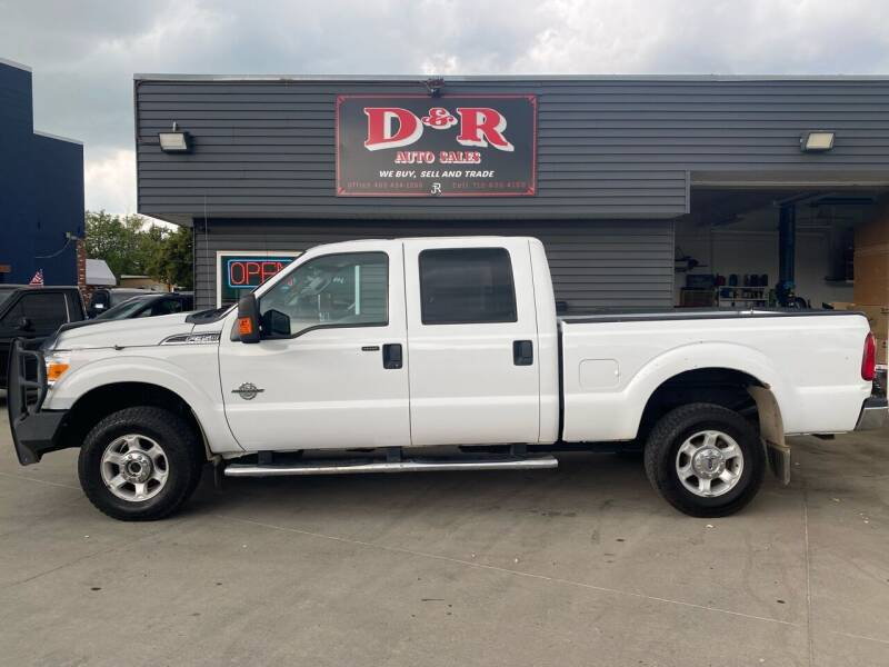 2013 Ford F-350 Super Duty for sale at D & R Auto Sales in South Sioux City NE