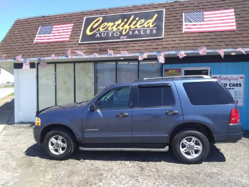 2004 Ford Explorer for sale at Certified Auto Sales, Inc in Lorain OH