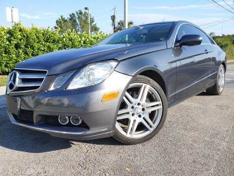 2010 Mercedes-Benz E-Class for sale at Easy Finance Motors in West Park FL