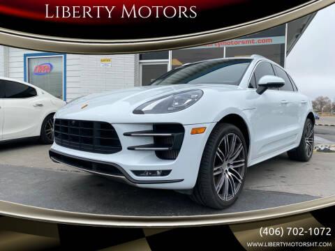 2017 Porsche Macan for sale at Liberty Motors in Billings MT