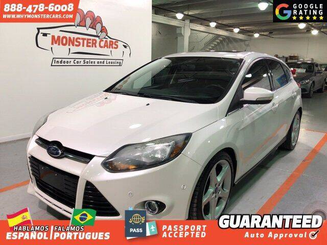 2013 Ford Focus for sale at Monster Cars in Pompano Beach FL
