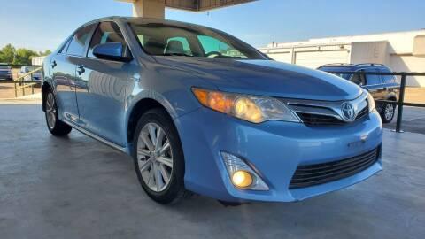 2012 Toyota Camry Hybrid for sale at ZORA MOTORS in Rosenberg TX
