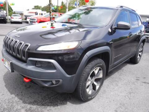 2014 Jeep Cherokee for sale at PONO'S USED CARS in Hilo HI