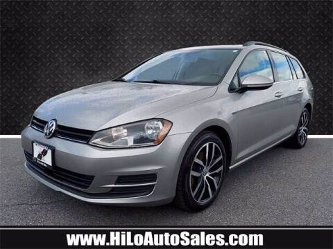 2016 Volkswagen Golf SportWagen for sale at Hi-Lo Auto Sales in Frederick MD