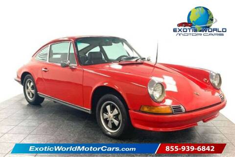 1971 Porsche 911 for sale at Exotic World Motor Cars in Addison TX
