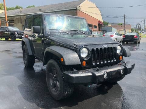 2013 Jeep Wrangler for sale at JB Auto Sales in Schenectady NY