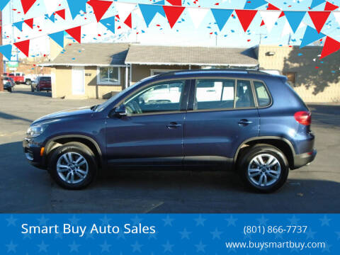 2016 Volkswagen Tiguan for sale at Smart Buy Auto Sales in Ogden UT