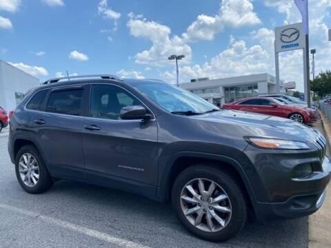 2017 Jeep Cherokee for sale at Southern Auto Solutions-Jim Ellis Volkswagen Atlan in Marietta GA