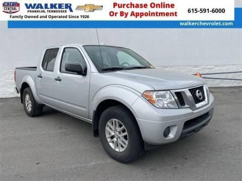 2018 Nissan Frontier for sale at WALKER CHEVROLET in Franklin TN
