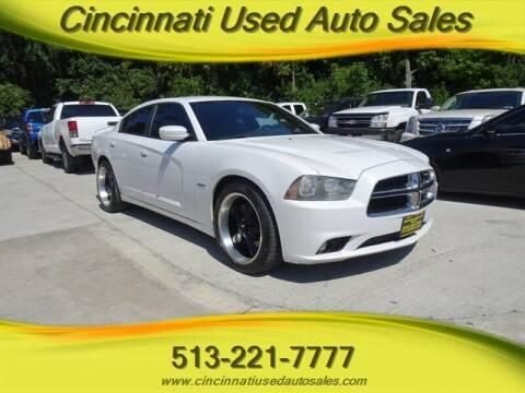 2013 Dodge Charger for sale at Cincinnati Used Auto Sales in Cincinnati OH