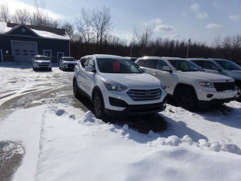 2015 Hyundai Santa Fe Sport for sale at Pool Auto Sales Inc in Spencerport NY