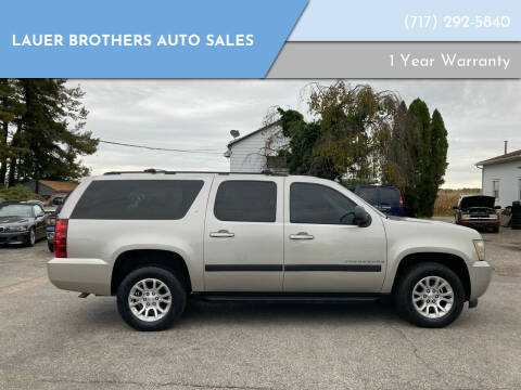 2008 Chevrolet Suburban for sale at LAUER BROTHERS AUTO SALES in Dover PA