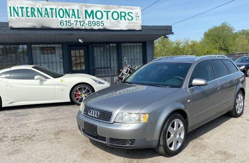 2003 Audi A4 for sale at International Motors Inc. in Nashville TN