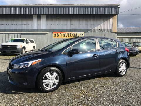 2018 Kia Forte5 for sale at A & V AUTO SALES LLC in Marysville WA