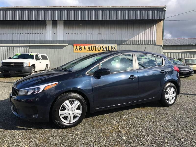 2018 Kia Forte5 for sale at A & V AUTO SALES LLC in Marysville WA