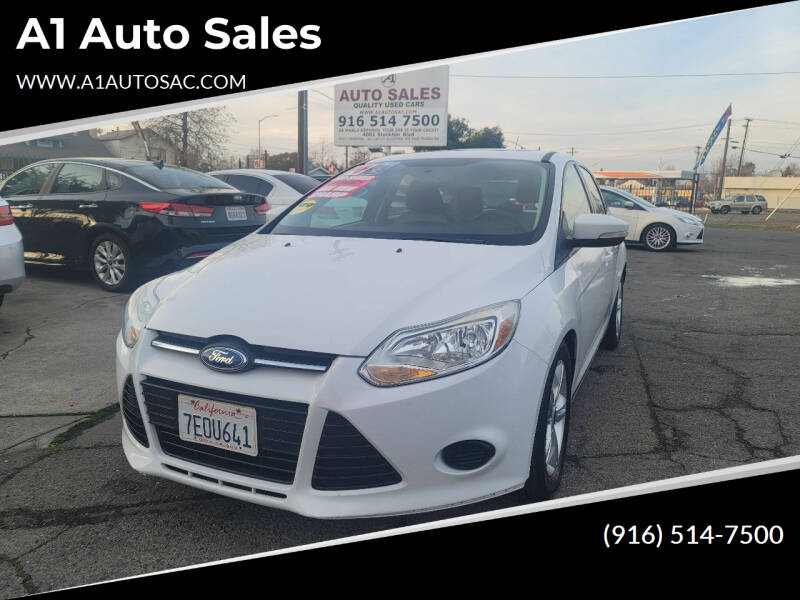 2014 Ford Focus for sale at A1 Auto Sales in Sacramento CA
