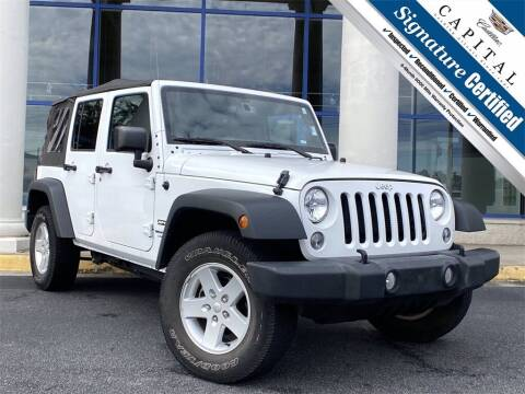 2018 Jeep Wrangler JK Unlimited for sale at Capital Cadillac of Atlanta in Smyrna GA