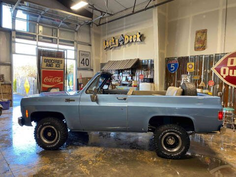 1973 Chevrolet Blazer K-5 4X4 for sale at Cool Classic Rides in Redmond OR