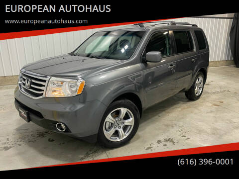 2012 Honda Pilot for sale at EUROPEAN AUTOHAUS in Holland MI