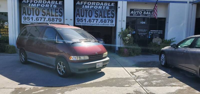 1995 Toyota Previa for sale at Affordable Imports Auto Sales in Murrieta CA
