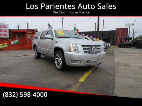 2013 Cadillac Escalade ESV for sale at Los Parientes Auto Sales in Houston TX