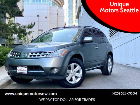 2007 Nissan Murano for sale at Unique Motors Seattle in Bellevue WA